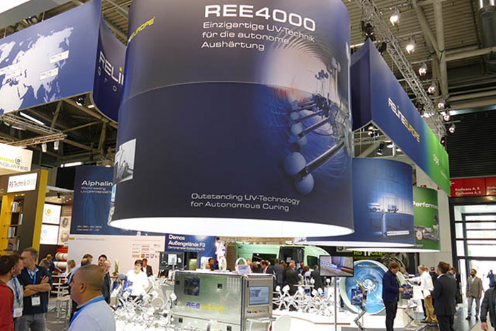 Trade fairs and events with the participation of the members of the RELINE UV group.