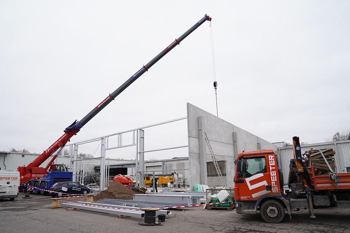 Construction work at RELINEEUROPE to expand production